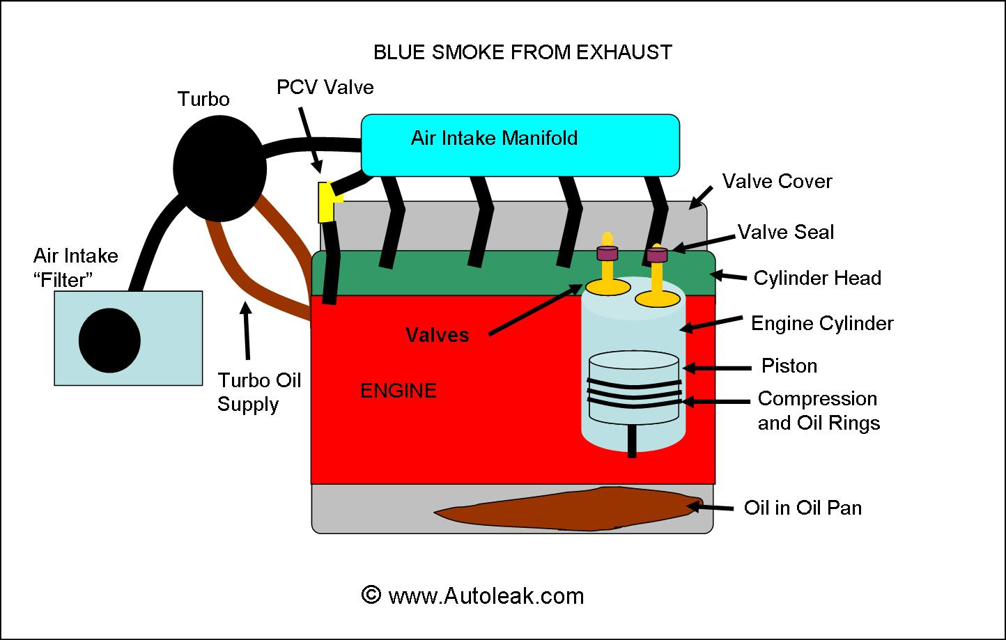 How to fix Blue Smoke Exhaust, What Causes Blue Smoke From Exhaust