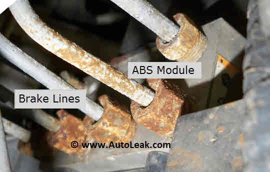 ABS Anti-lock braking system Control Module
