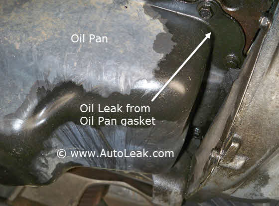 Oil Pan, Oil Pan Gasket Leak, Oil Pan Leak