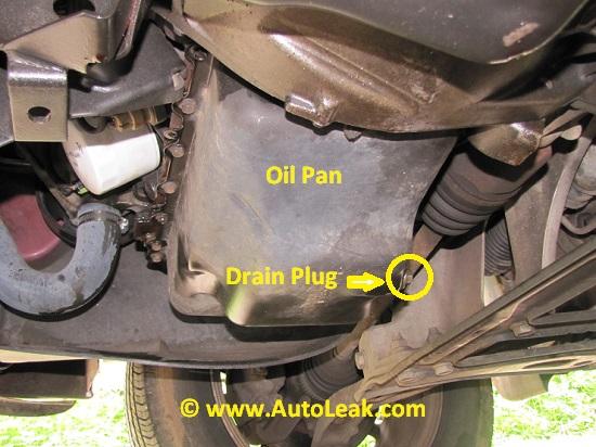 Oil Pan, Oil Pan Drain Plug, Oil Pan Leak